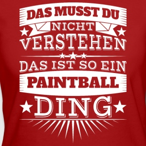 Paintball Ding - Frauen Bio-T-Shirt