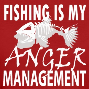 Manage your Anger - Fishing - Frauen Bio-T-Shirt