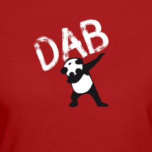 Dab Panda dabbing hiphop Football Dance LOL touchd - Women's Organic T-shirt