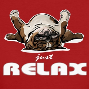 ENGLISH BULLDOG just relax - Women's Organic T-shirt