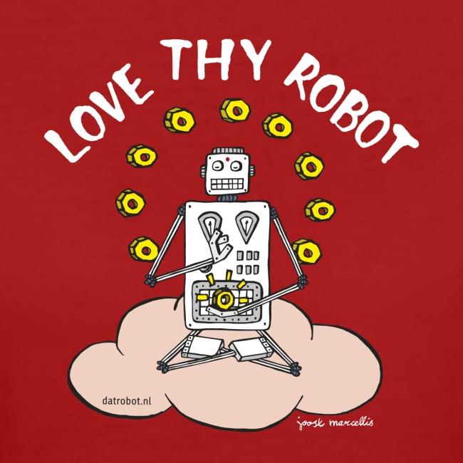 Dat Robot: Love Thy Robot Buddha Dark