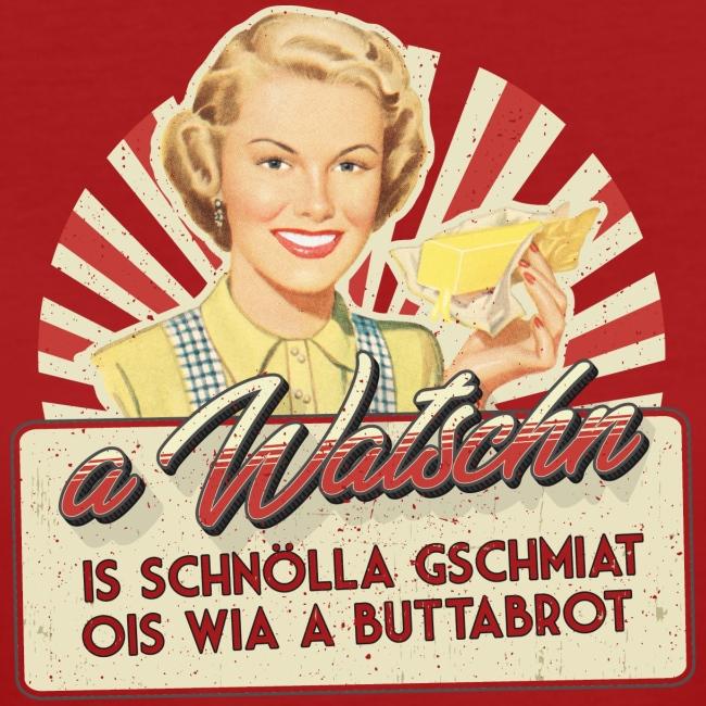 Vorschau: A Watschn is schnö gschmiat - Frauen Bio-T-Shirt