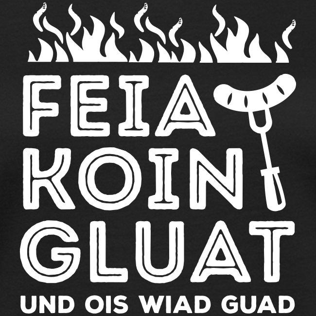 Vorschau: Feie Koin und Gluat - Frauen Bio-T-Shirt