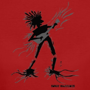 Shred - Sonic Warrior guitarist and axe hero - Women's Organic T-shirt