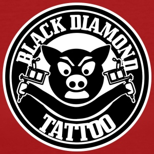Black Diamond Tattoo - Økologisk T-skjorte for kvinner