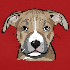 AMERICAN STAFFORDSHIRE TERRIER puppy - Women's Organic T-shirt