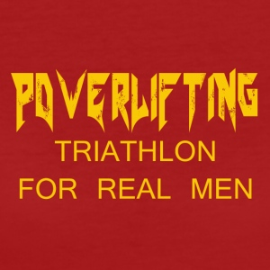 TRIATHLON FOR REAL MEN - Women's Organic T-shirt