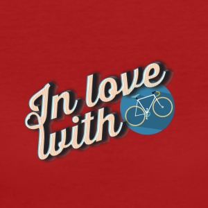 In love with cycling - Women's Organic T-shirt