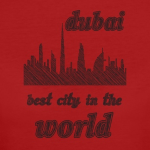 Dubai Best city in the world - Women's Organic T-shirt