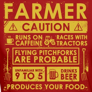 Farmer: Caution! - Women's Organic T-shirt