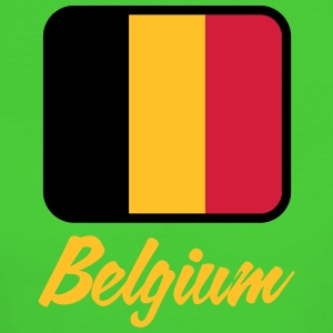 National Flag of Belgium - Ekologisk T-shirt dam