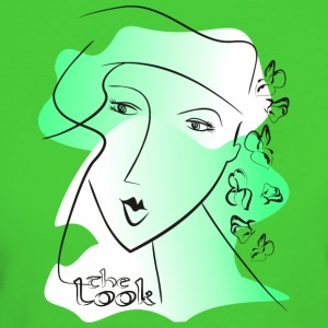 Face 8 green (The Look series) - Women's Organic T-shirt