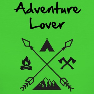 Adventure Lover - Vrouwen Bio-T-shirt