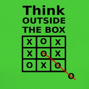 THINK OUTSIDE THE BOX - Women's Organic T-shirt