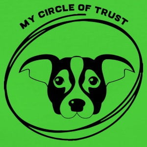 Dog / Jack Russell: My Circle Of förtroende - Ekologisk T-shirt dam