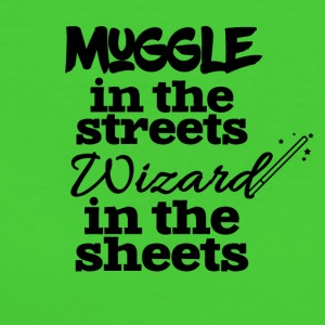 Muggle in the streets wizard in the sheets - Women's Organic T-shirt