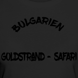 Bulgarie Golden Beach Safari - T-shirt Bio Femme