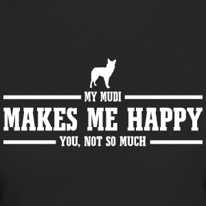 My MUDI makes me happy - Frauen Bio-T-Shirt
