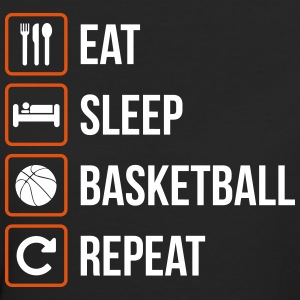 Eat Sleep Basketball Repeat - Frauen Bio-T-Shirt