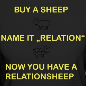relation Sheep - T-shirt Bio Femme
