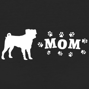 Pug - Mom with paws - Women's Organic T-shirt