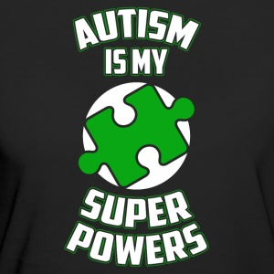 Autism is my superpower funny sayings - Women's Organic T-shirt