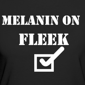 MELANIN ON FLEEK - Women's Organic T-shirt