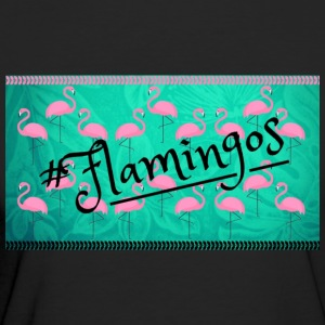Pink flamingos - Women's Organic T-shirt