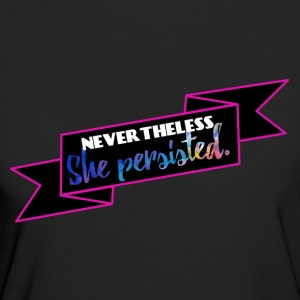 She persisted! - Frauen Bio-T-Shirt