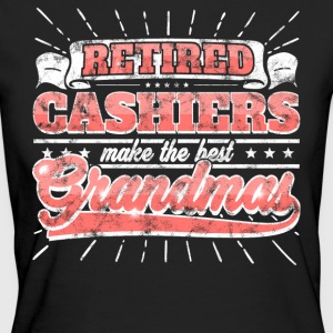 Retired Cashiers Make The Best Grandmas Shirt - Frauen Bio-T-Shirt