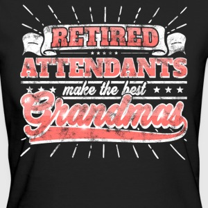 Retired Attendants Make The Best Grandmas Shirt - Women's Organic T-shirt