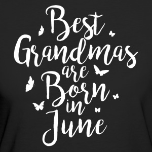 Best Grandmas are born in June - Women's Organic T-shirt