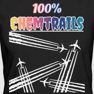 100 Chemtrails - Not Contrails - Women's Organic T-shirt