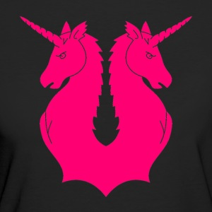 Double Unicorn - Vrouwen Bio-T-shirt