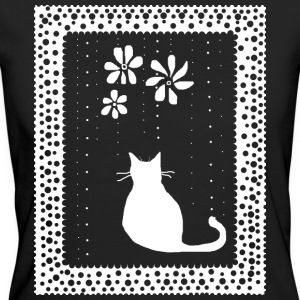 Poetic Kitty Cat - Women's Organic T-shirt