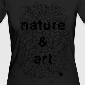 UG Nature and Art B/W - Women's Organic T-shirt