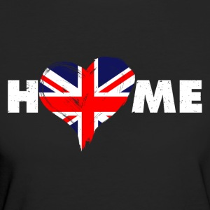 Home love England United Kingdom - Women's Organic T-shirt