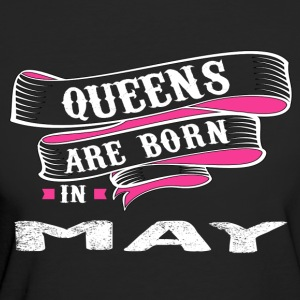 Queens Born In MAY - Women's Organic T-shirt