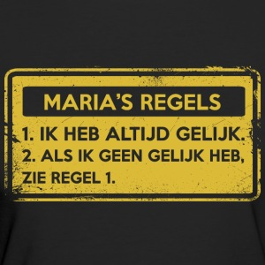 Maria's rules. Original gift. - Women's Organic T-shirt