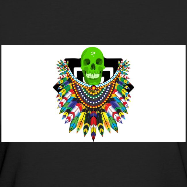 Colorfull skull