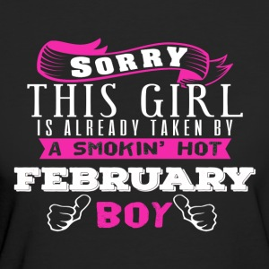 This Girl IS Already Taken By FEBRUARY - Women's Organic T-shirt