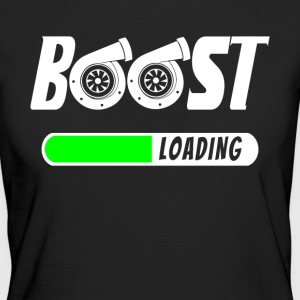Boost Loading - Turbolader - Turbo T-Shirt! - Frauen Bio-T-Shirt