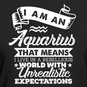 Aquarius - Ekologisk T-shirt dam