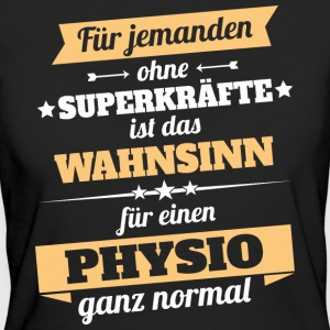 Physio Physiotherapeut - Held - Frauen Bio-T-Shirt