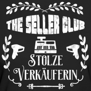 The Seller Club: Stolze Verkäuferin - Frauen Bio-T-Shirt