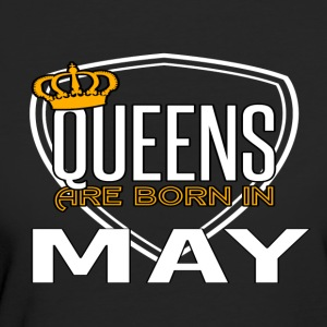 Queens Born MAY - Women's Organic T-shirt