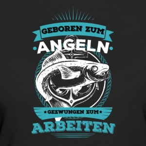 The shirt for real anglers, fishing - Women's Organic T-shirt