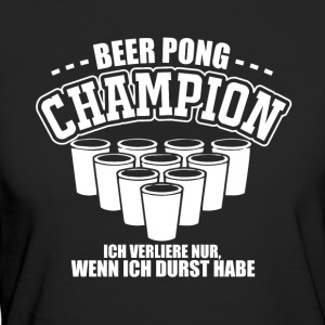 Beer Pong Champion - Frauen Bio-T-Shirt