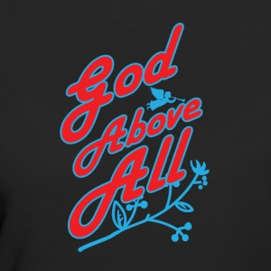 God Above All - Women's Organic T-shirt