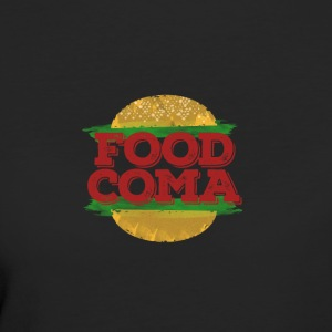 Alimentaire Coma Hamburger Fast - T-shirt Bio Femme